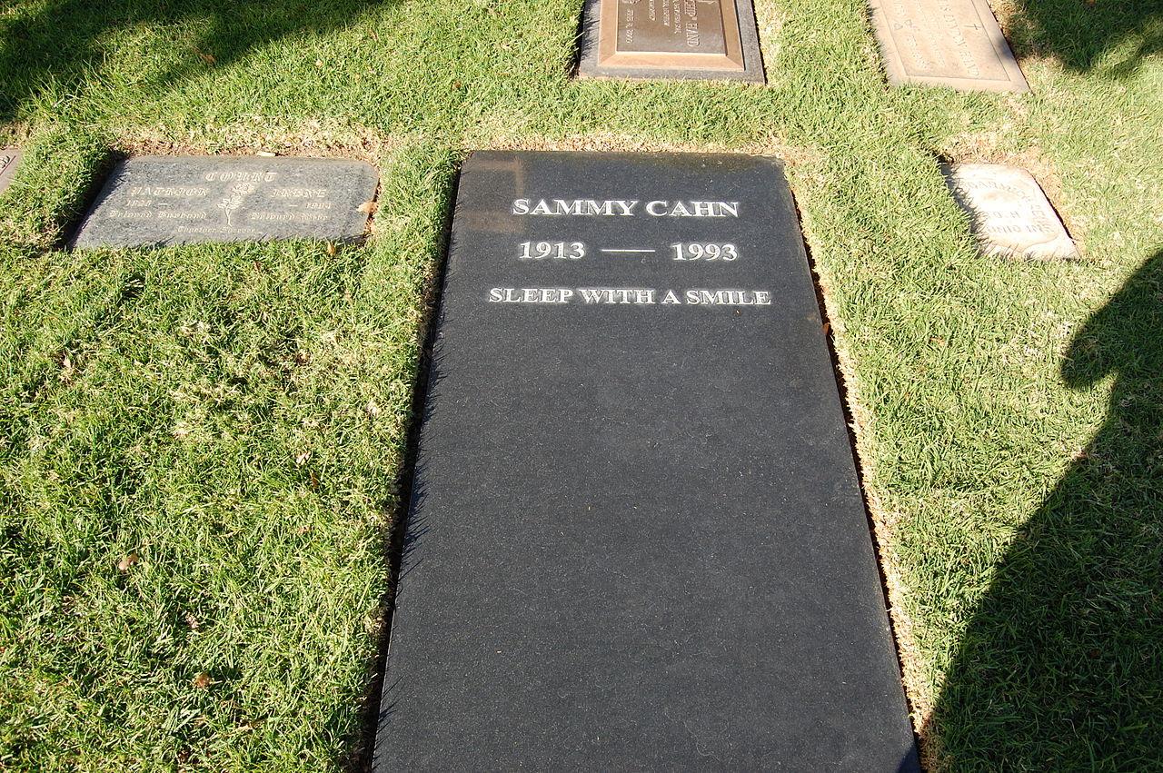 File Sammy Cahn Grave At Westwood Village Memorial Park