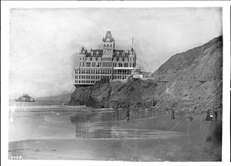 Cliff House, San Francisco - San Francisco's Cliff House Restaurant, ca.1900