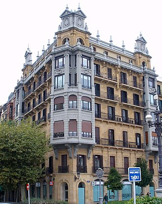 San Sebastián - Early 20th century residential building (city centre)
