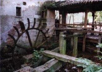 Cinque Mulini - The Montoli mill, one of several near the course.