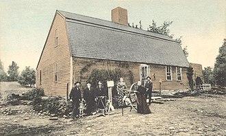 Lunenburg, Massachusetts - Old Sanderson House c. 1905