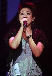 Sandy Lam Hong Kong singer