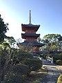 Sanjunoto Tower of Buzen-Kokubunji Temple.jpg