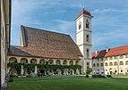Sankt Georgen am Längsee Schlossallee 2 Pfarrkirche hl. Georg SW-Ansicht 29082018 4445.jpg