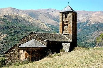 Iglesia de Sant Iscle y Santa Victòria de Surp.
