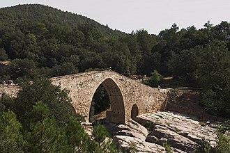 Cercs - Pedret bridge
