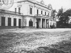 Buenos Aires and Rosario Railway - Santa Fe station, c. 1900.