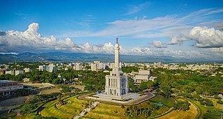 Santiago de los Caballeros City in Santiago, Dominican Republic