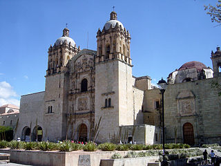 Church of Santo Domingo de Guzmán church building in Oaxaca de Juárez, Mexico
