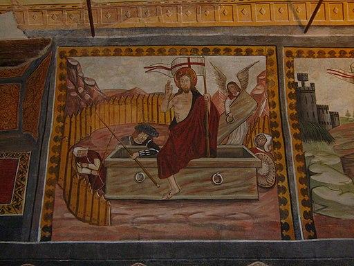 SantuarioDiSanMagno-Cappella antica, Cristo risorto