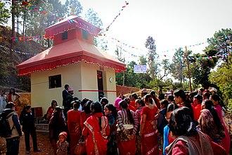 Kavrepalanchok District - Saping Siddhi Ganesh Temple (Ramche) Kabhrepalanchok.