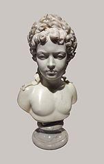 Popiersie Ludwika XIV w wieku 10 lat