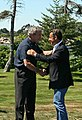 Sarkozy and bush at kennebunkport.jpg