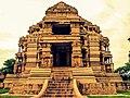 Sas Bahu temple, Gwalior Fort -Gwalior -Madhya Pradesh -IMG 1291.jpg