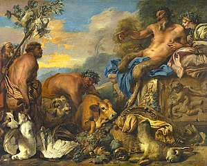 Satyrs Bringing their Gifts