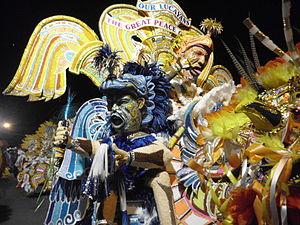 Junkanoo - Image: Saxons Costume