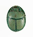 Scarab Inscribed with the Throne Name of Thutmose III MET 27.3.302 top.jpg
