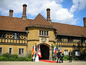Schloss Cecilienhof in Potsdam.