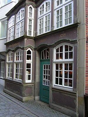 Schnoor - Image: Schnoor Quarter, bremen 0014
