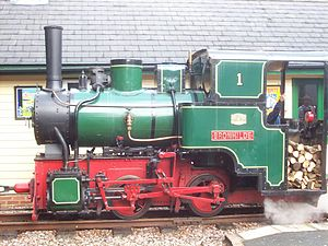 Bredgar and Wormshill Light Railway - Image: Schwartzkopf 9124 of 1927