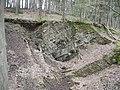 Schwelm, Hang des rechten Wupperufers oberhalb Beyenburger Str. 77, Bergfallmulde, Bild 2.jpg