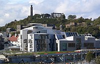 Scottish Parliament, from Salisbury Crags.jpg