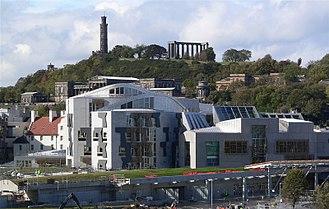 Devolution in the United Kingdom - Scottish Parliament Building, Edinburgh