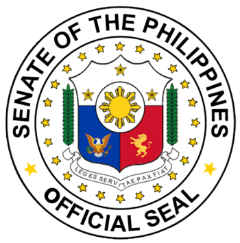 English: Senate Seal http://www.senate.gov.ph/