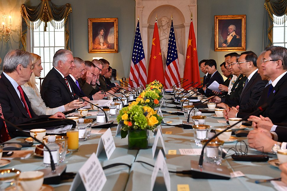 Secretaries Tillerson and Mattis Host the U.S.-China Diplomatic and Security Dialogue With Chinese State Councilor Yang and General Fang in Washington (34604966264)