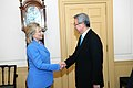 Secretary Clinton Shakes Hands With Korean Foreign Minister Kim Sung-Hwan (5868175212).jpg