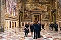 Secretary Pompeo Visits the Sistine Chapel (48840368141).jpg
