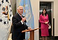 Secretary Tillerson Delivers Remarks to Colleagues at the U.S. Mission to the United Nations in New York City (34171316342).jpg
