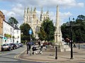 Selby Abbey and War Memorial - geograph.org.uk - 520562.jpg