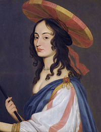 Self portrait by Louise Hollandine, princess Palatine.jpg
