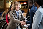 Senator Tina Smith at an event in support of DACA at Hennepin County Government Center Minneapolis, MN (25692495078).jpg