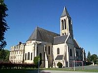 Senlis (60), ancienne abbaye Saint-Vincent depuis le nord-est.jpg