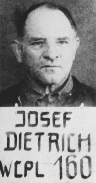 Dietrich as a POW