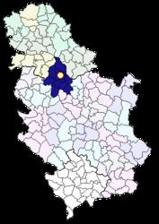 Belgrado – Mappa