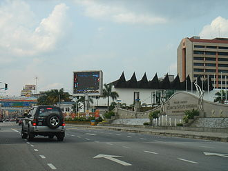 Malaysia Federal Route 1 - Jalan Dato Bandar Tunggal, part of the Federal Route 1 in Seremban, Negeri Sembilan