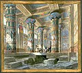 Set design by Philippe Chaperon for Act4 sc2 of Aida by Verdi 1880 Paris edited.jpg