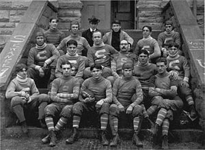 1899 Sewanee Tigers football team - Image: Sewanee 1899 Football Team