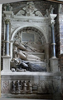 Monument to Lord Edward Seymour (d.1593), and to his son and daughter-in-law, Berry Pomeroy Church SeymourMonumentBerry PomeroyDevon.JPG