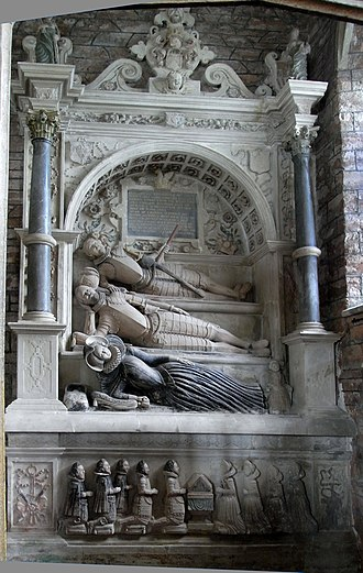 Edward Seymour, 1st Duke of Somerset - Image: Seymour Monument Berry Pomeroy Devon