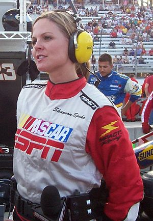 Shannon Spake - Spake at the Milwaukee Mile in 2009