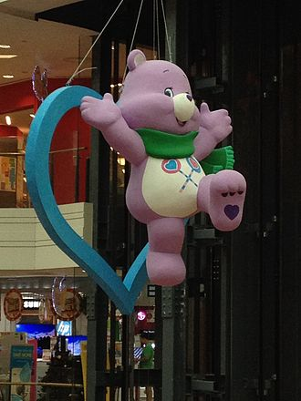 Care Bears - Image: Share Bear from Care Bear , Junction 8, Singapore, Dec 2013