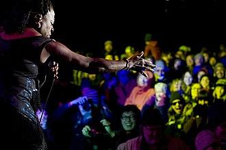 Sharon Jones - Sharon Jones and the Dap Kings were the headliner act at the 2013 Treefort Music Fest