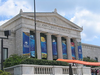English: John G. Shedd Aquarium in Chicago, Il...