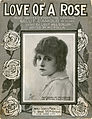 Sheet music cover - LOVE OF A ROSE (1919).jpg
