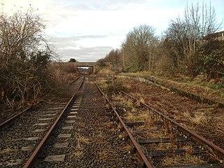 Sherburn Colliery railway station Disused railway station in Sherburn, County Durham