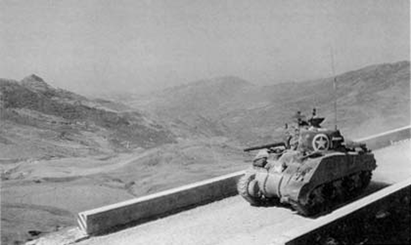 Sherman-Tank-in-Sicily